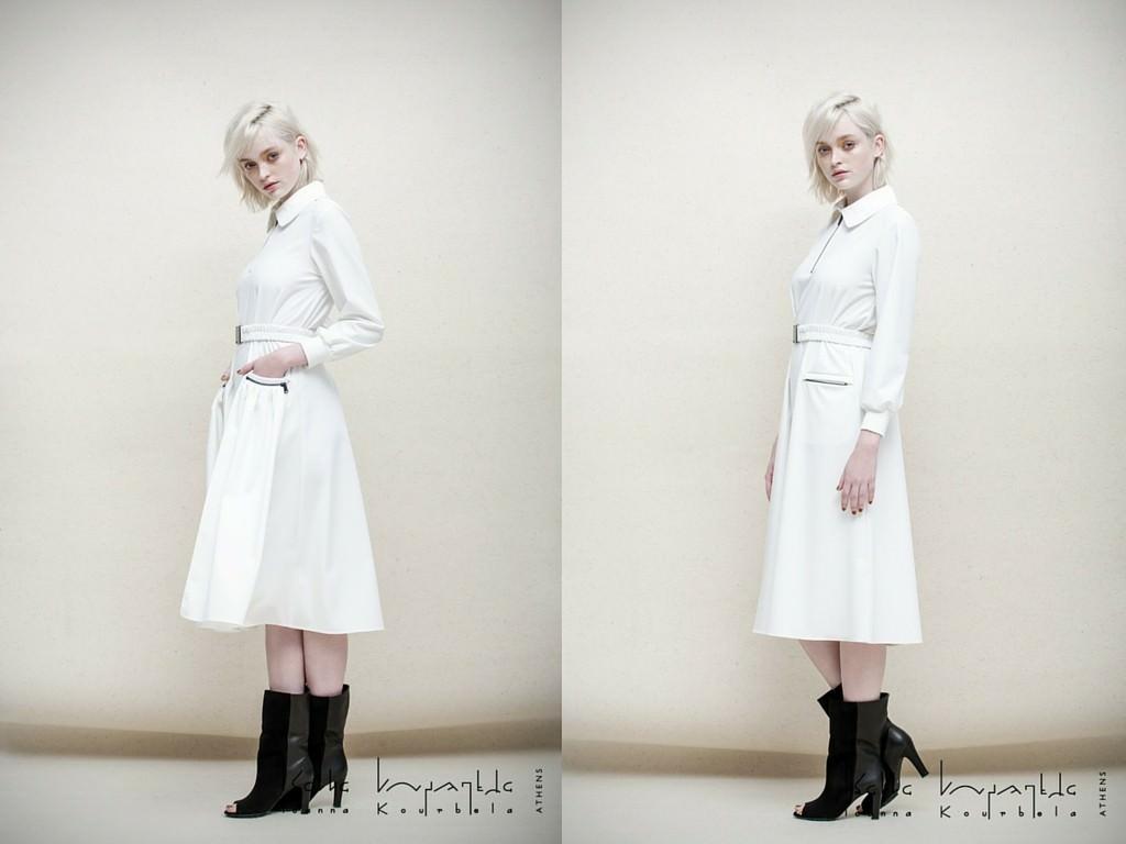 Ioanna Kourbela white dress