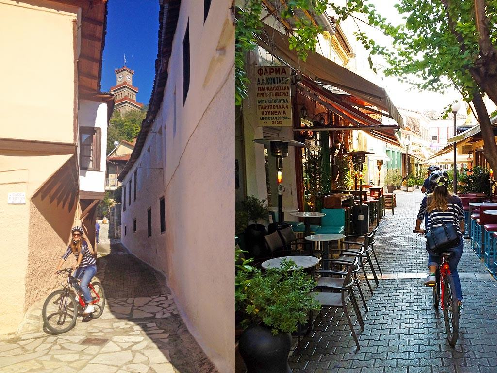 Bicycling in Trikala