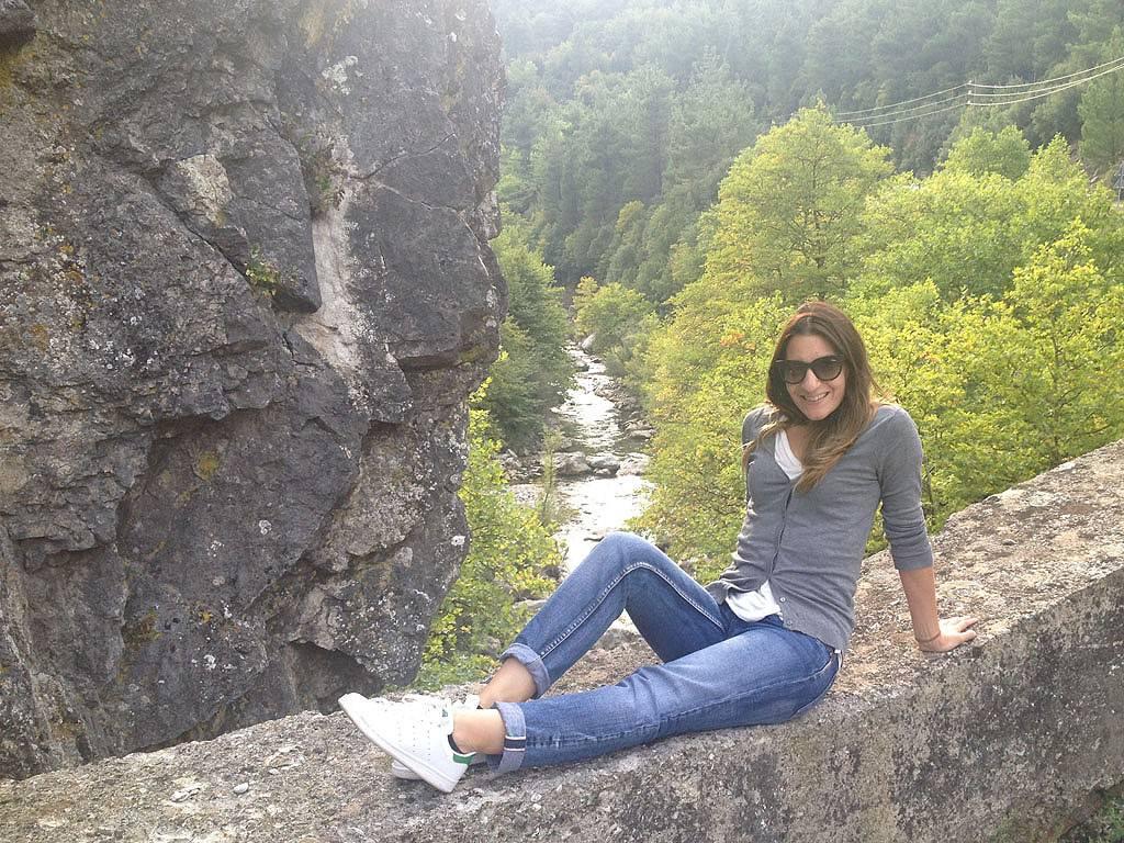 Me in Elati river