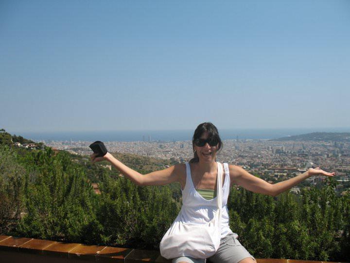 Me in Barcelona
