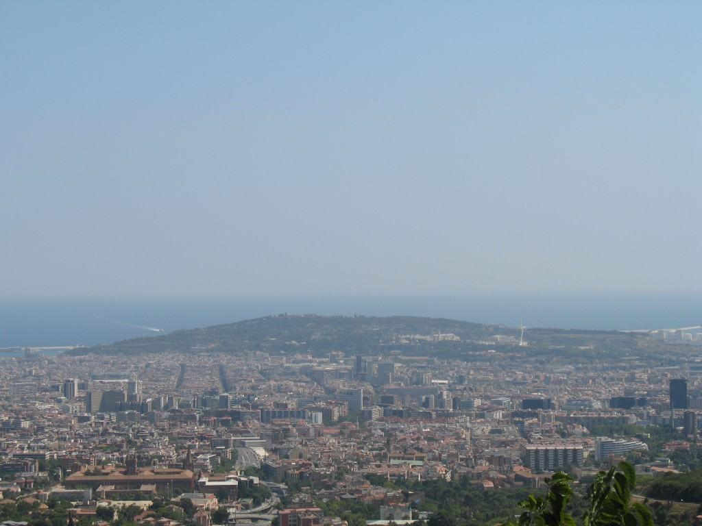 Barcelona view)