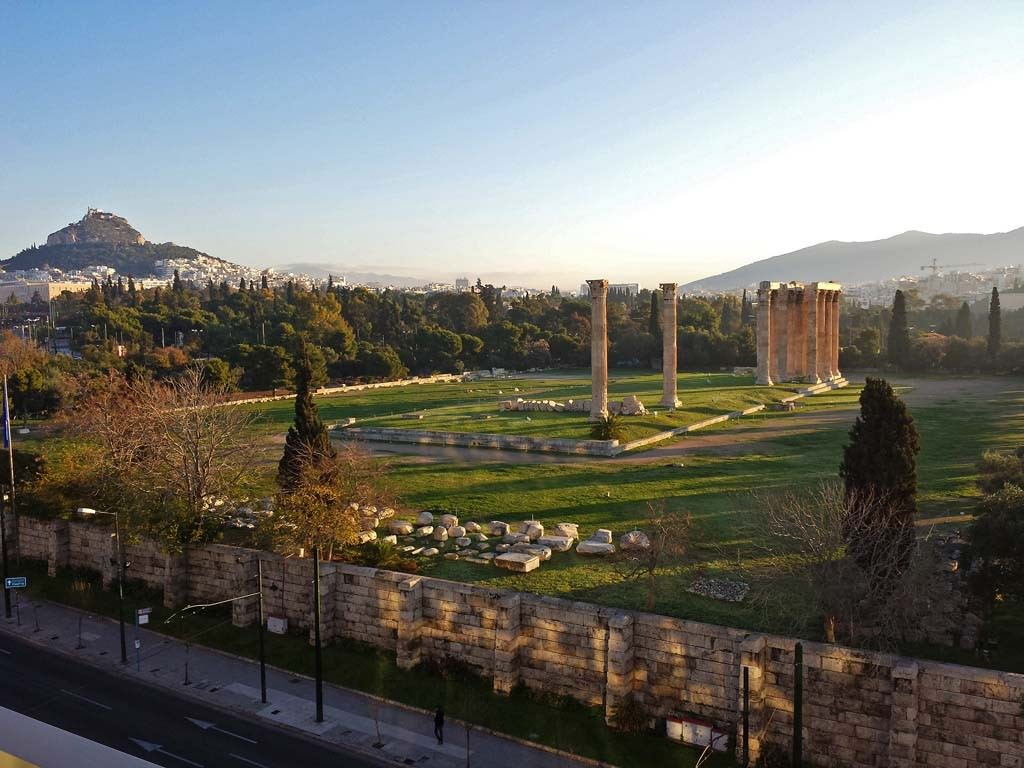 Athens Gate view Syggrou