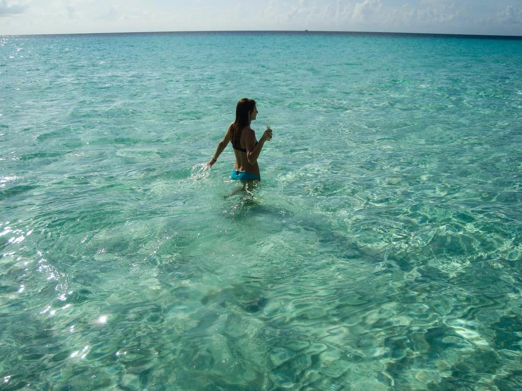 Cozumel caribbean blue
