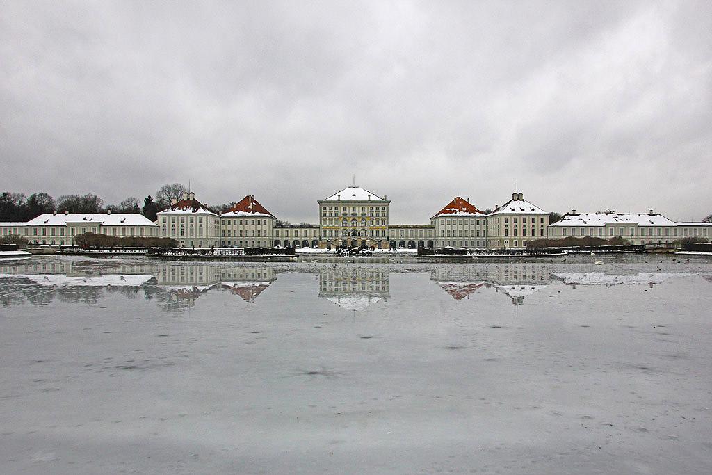 Στο παλάτι του Nymphenburg
