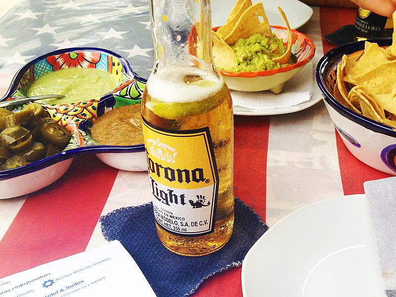 Playa del Carmen first beers