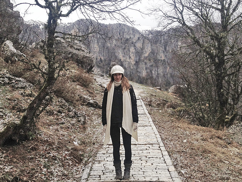 Dreamista in Vikos Gorge