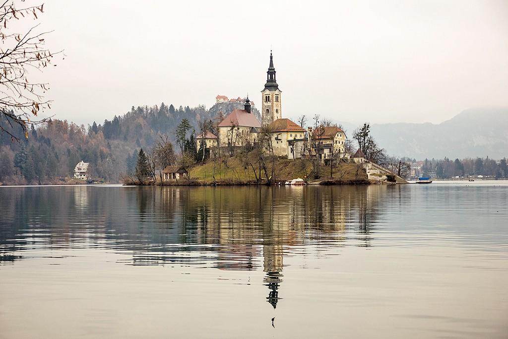 Η Λίμνη Bled, 40 λεπτά από τη Λιουμπλιάνα