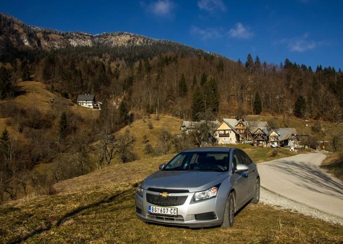 Στις Άλπεις της Σλοβενίας με τη Chevrolet που νοικιάσαμε από το Βελιγράδι