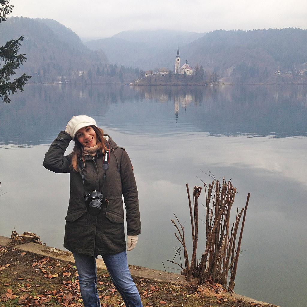 Στη λίμνη Bled της Σλοβενίας /</br> At Lake Bled, Slovenia