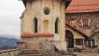 Στο κάστρο του Bled