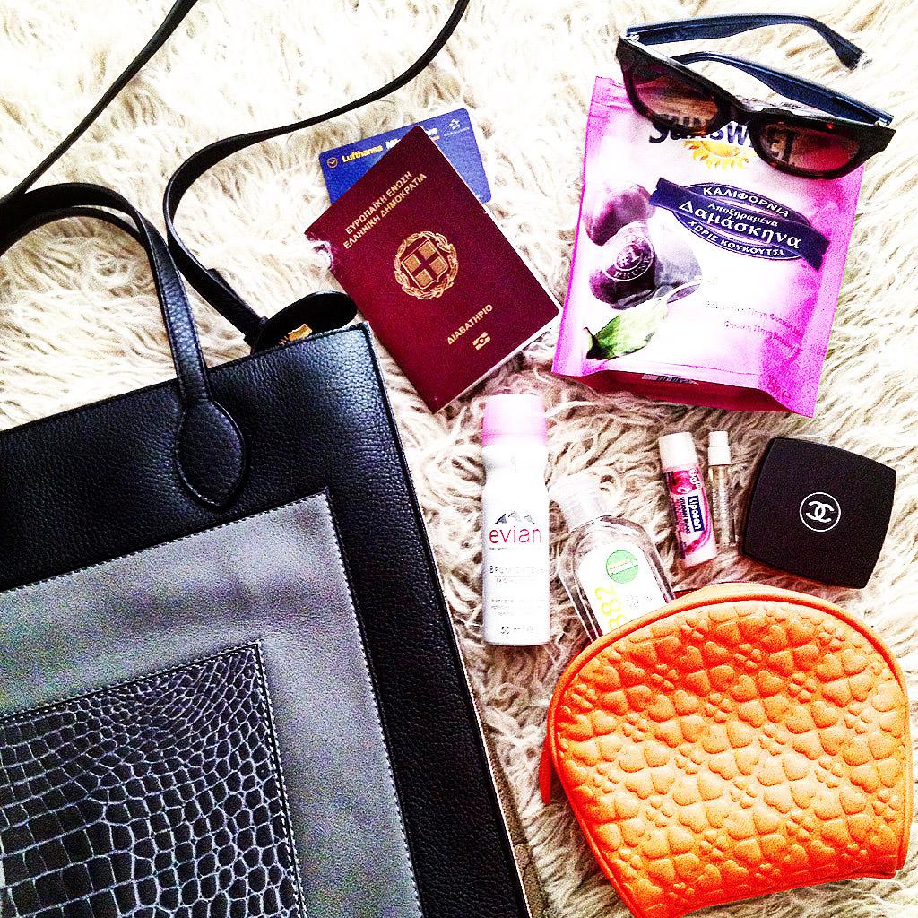 Η τσάντα μου στο road trip μας Σερβία-Ουγγαρία-Κροατία
