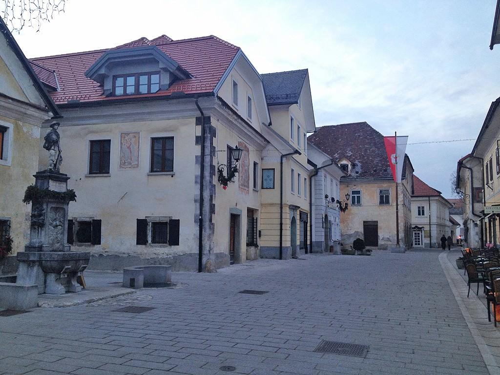 Στη μεσαιωνική πόλη Radovljika