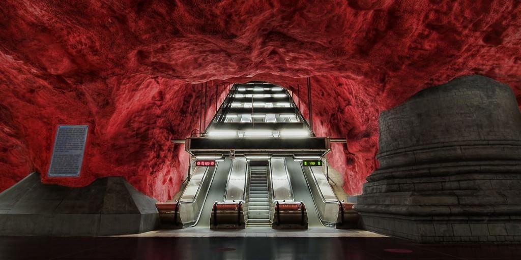 Τέχνη και γούστο, ακόμα και στο μετρό