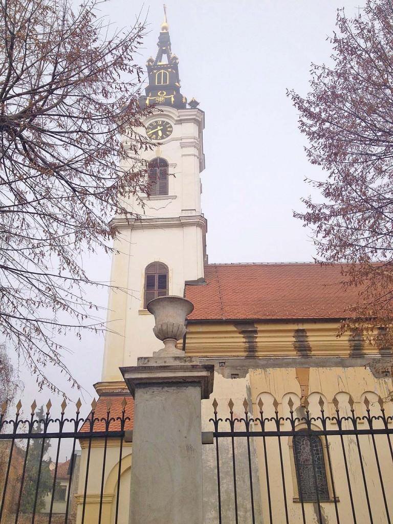 Μια εκκλησία στο Zemun