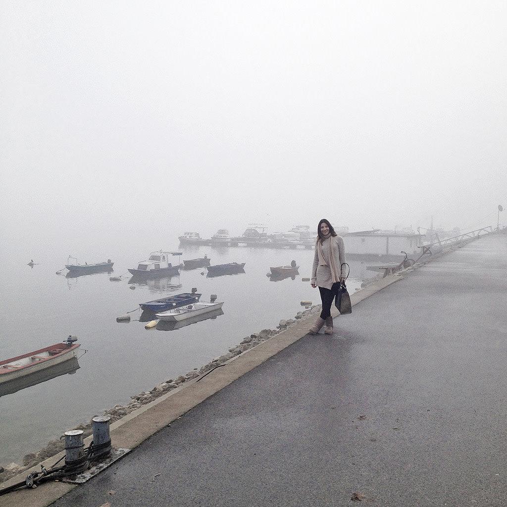 Στο λιμάνι του Zemun