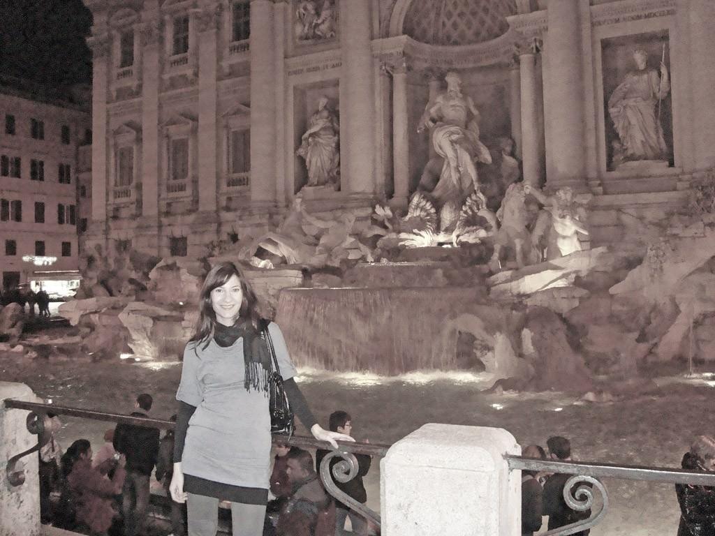 Στη Fontana di Trevi