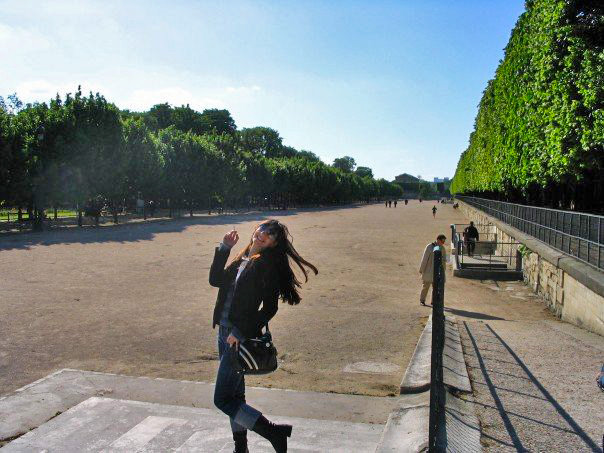 Young and wild and free, à Paris