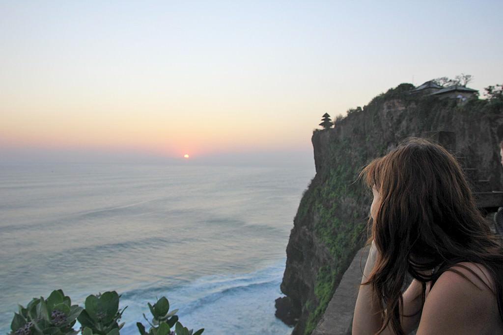 Ηλιοβασίλεμα στο Uluwatu