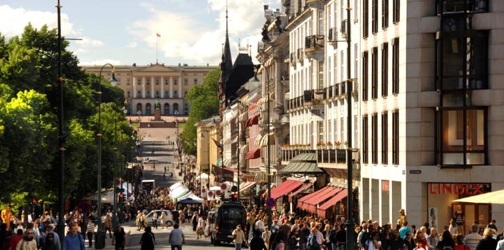 Karl Johan shopping street
