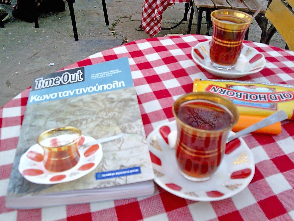 Τούρκικο τσάι στο Πιέρ Λοτί