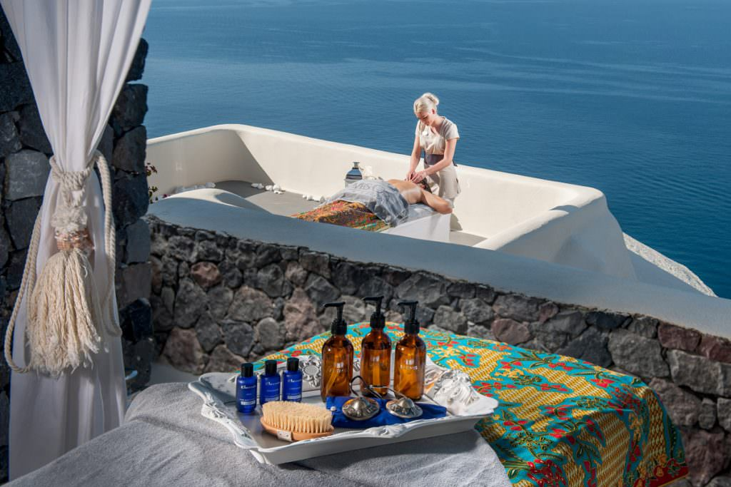 Canaves Massage with a view in Oia of Santorini