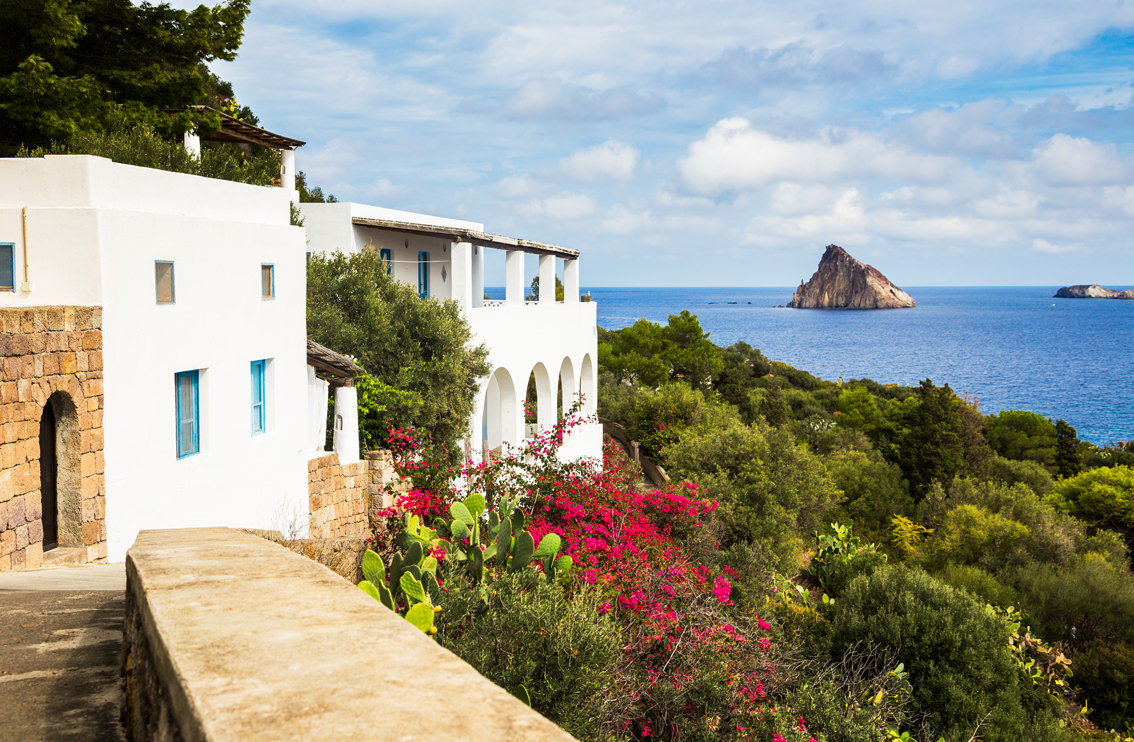 A Yoga Retreat on Panarea Sicely