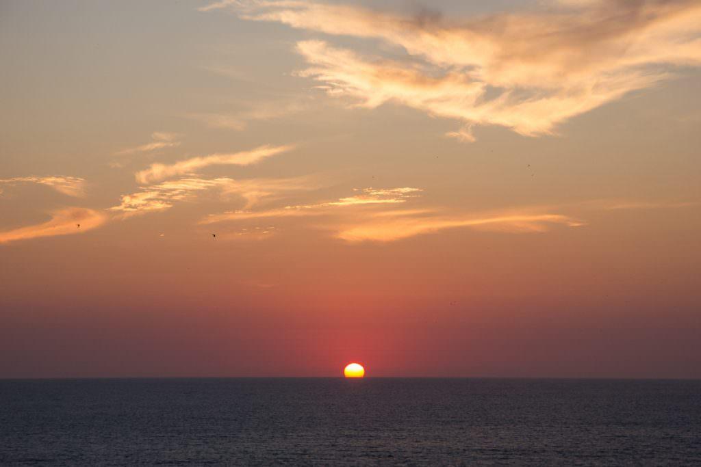 Ηλιοβασίλεμα στο Capo Caccia