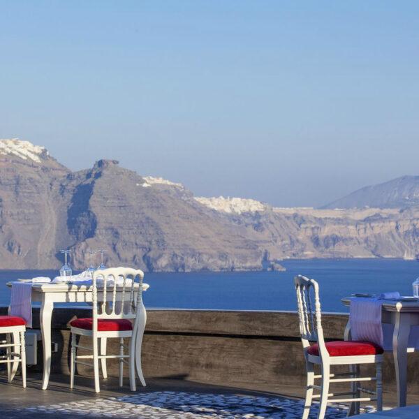 French Cuisine in Santorini!