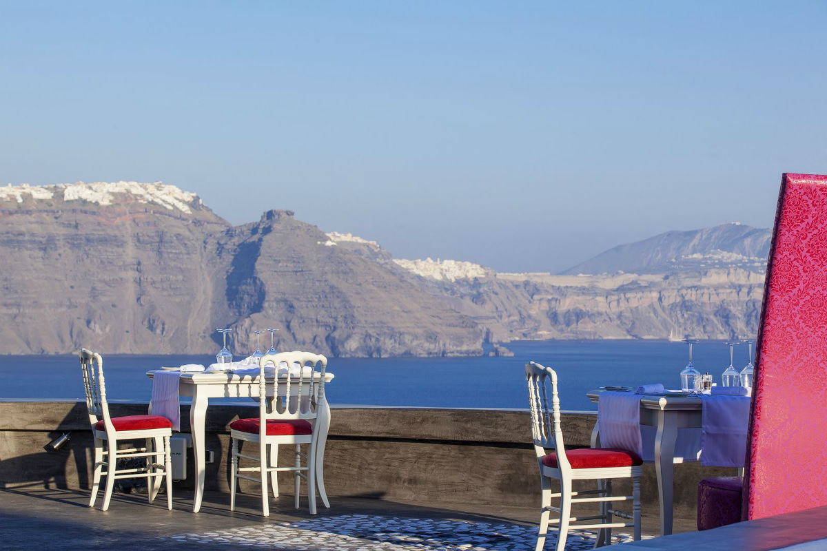 French Cuisine in Santorini!