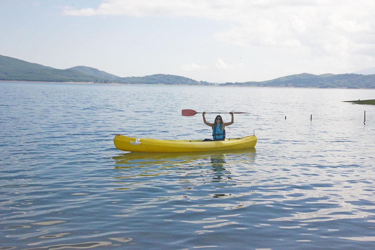 Canoe-kayak στη Λίμνη Πλαστήρα