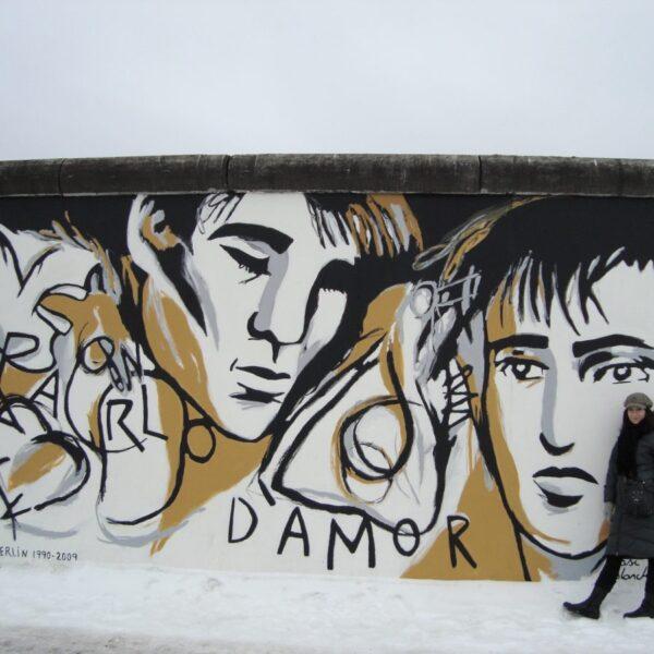 At The Berlin Wall