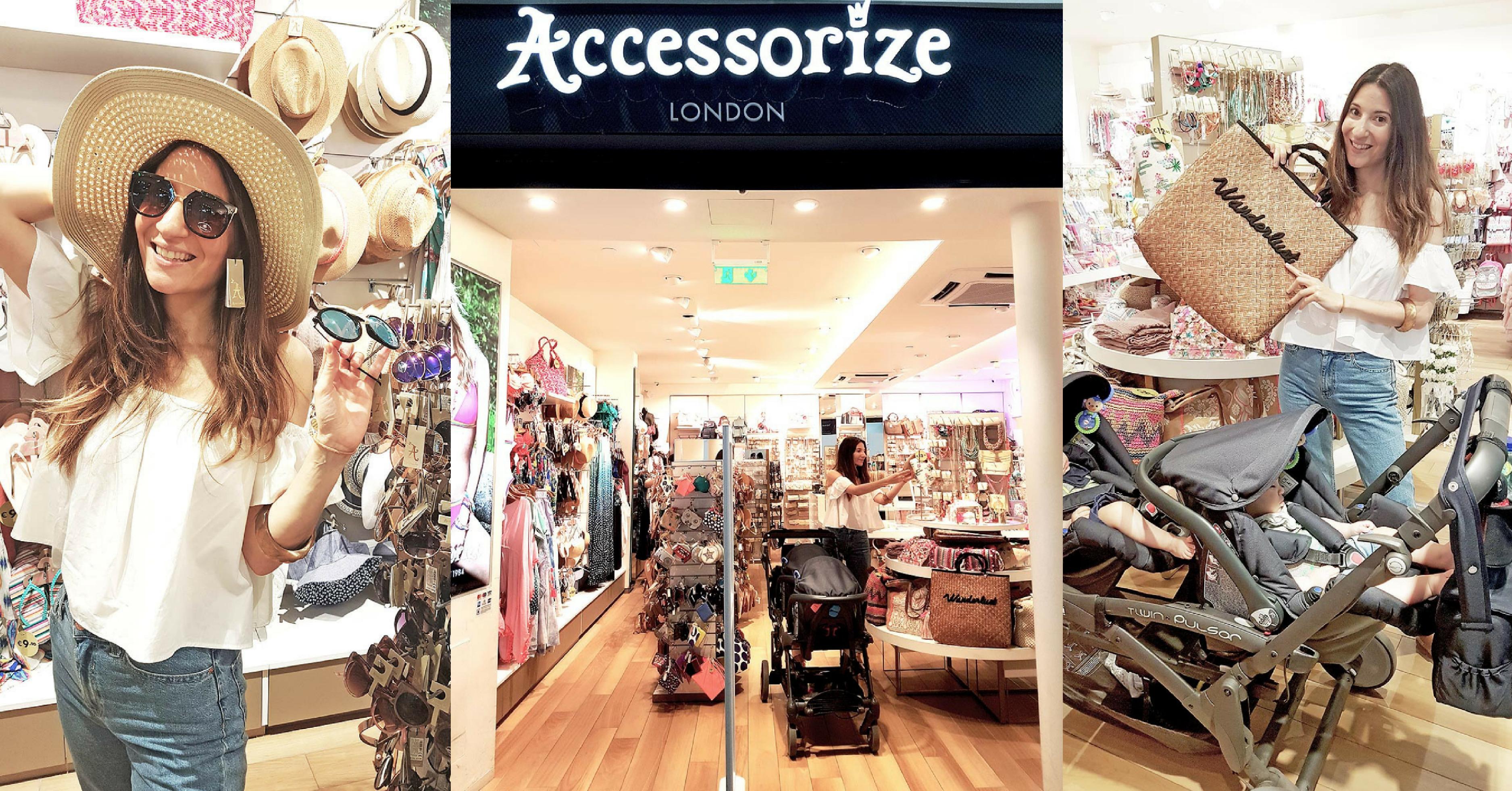 Στο Αεροδρόμιο για Accessorize Shopping