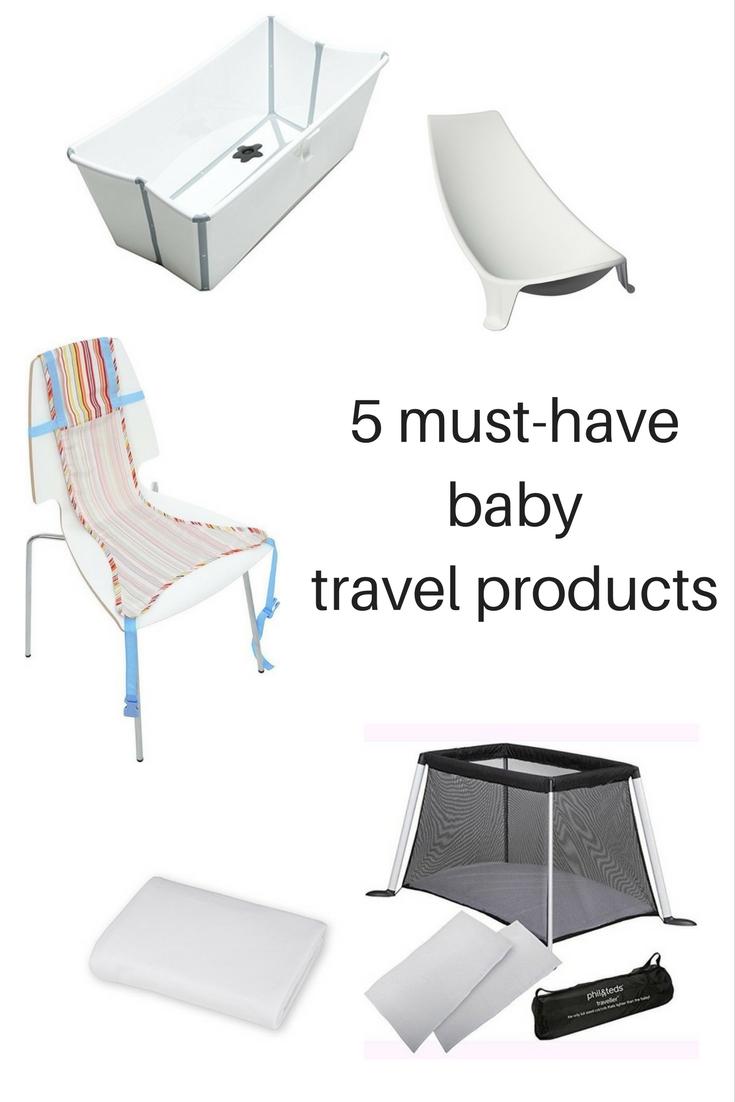 5 Προϊόντα για Εύκολα Ταξίδια με Μωρά