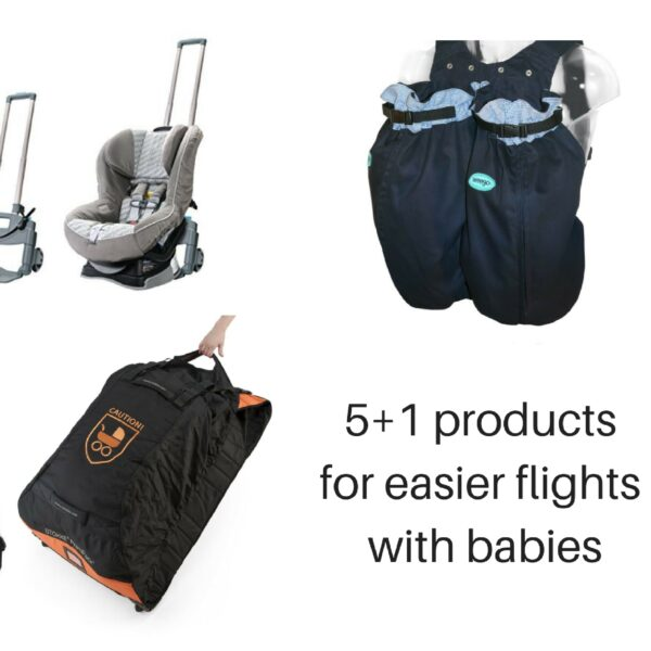 6 must have products for easier flights with babies