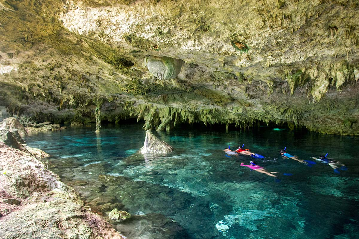 Στις Cenotes του Yucatan