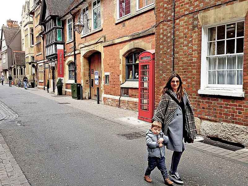 A Day In Oxford With Our Twins