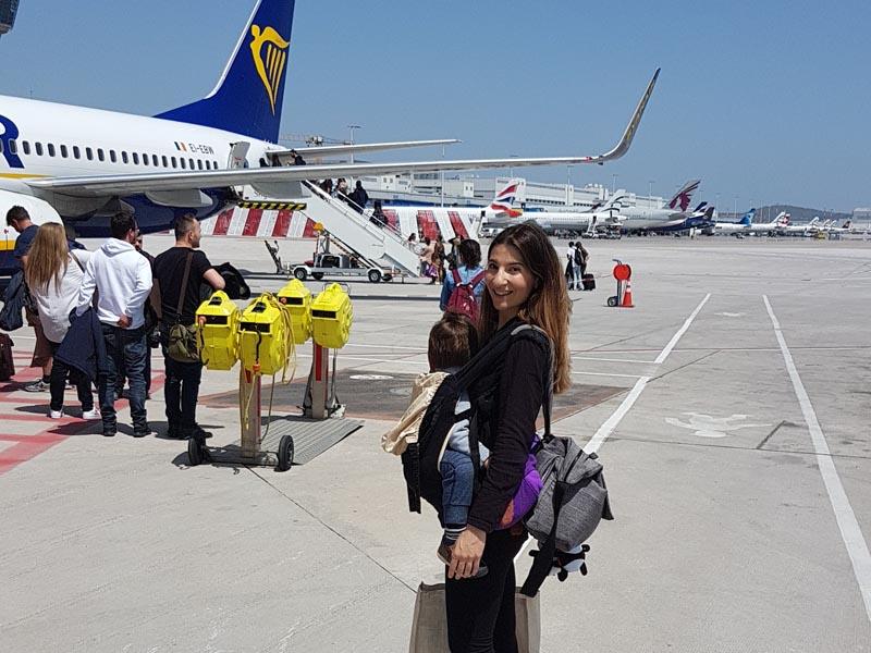 Πτήση Με Δίδυμα Νήπια