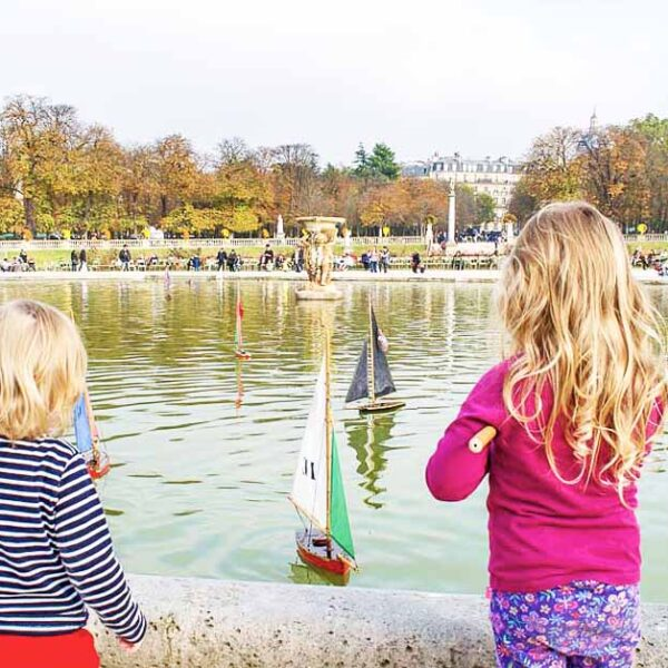 Paris With Toddlers, with Kids and a Compass