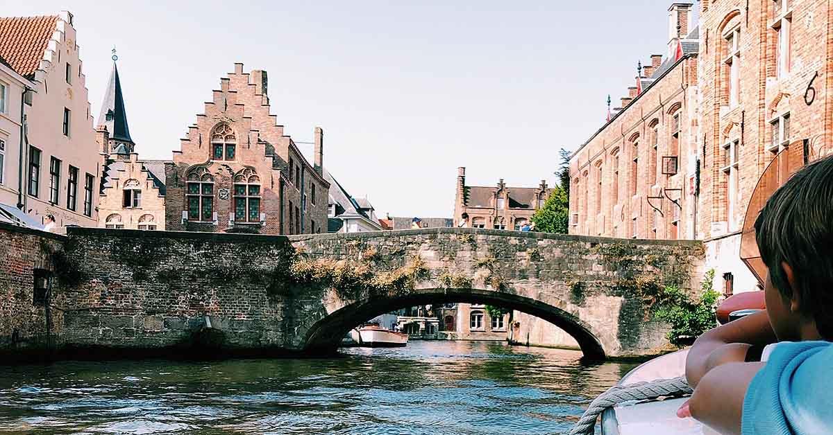 Στην Bruges Με Τα Παιδιά