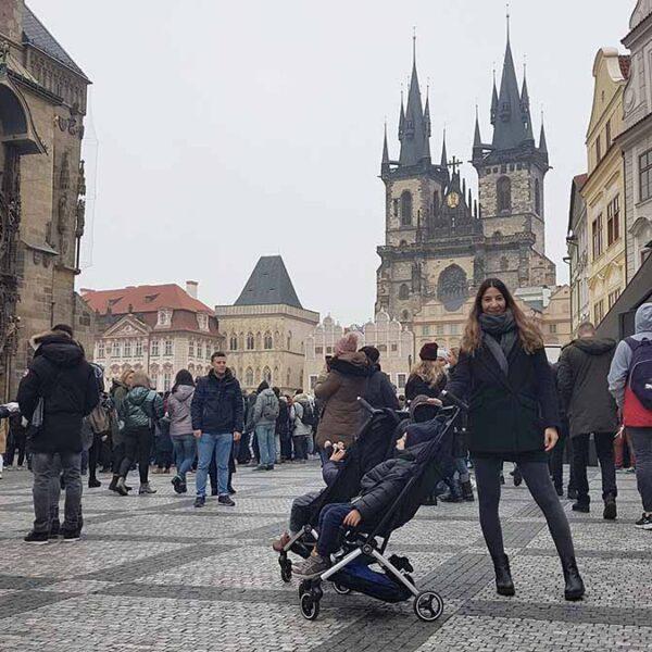 Στην Πράγα με τα Δίδυμα