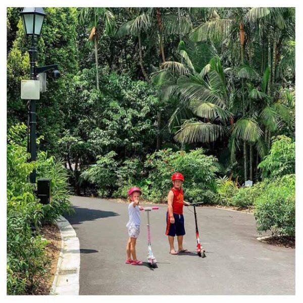 Στη Σιγκαπούρη Με Παιδιά