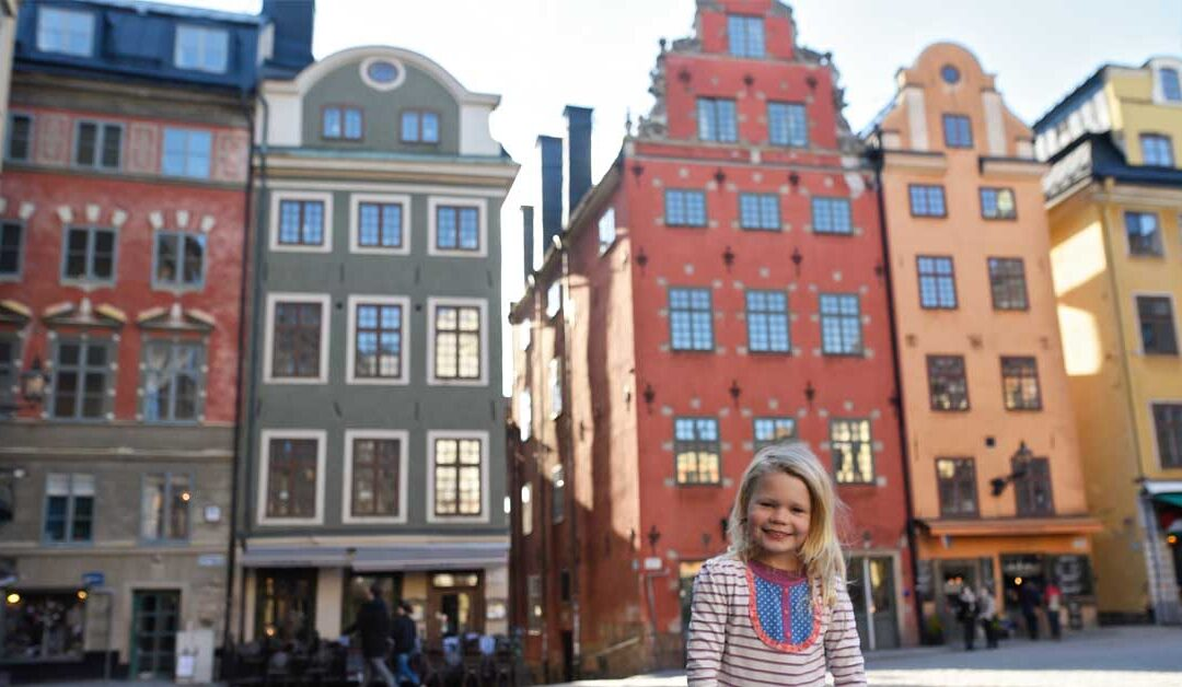 Stockholm With Toddlers
